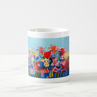 Kuhle cup: The six Kuhmmerbuben Coffee Mug