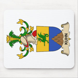 Kuhn Family Crest Mouse Pad