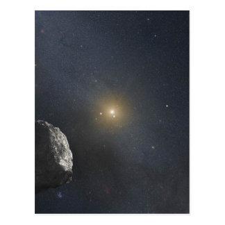 Kuiper Belt Object - Artists Concept Postcard