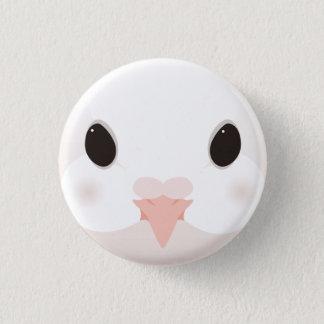 kujiyakubato - Fantail pigeon 1 Inch Round Button