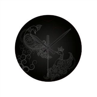 Kujyaku Round Clock
