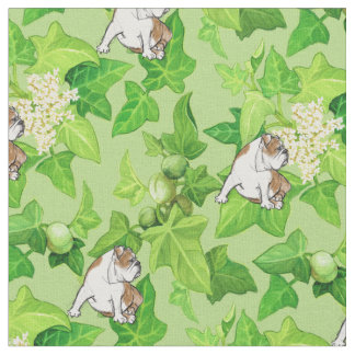 Kukui Nut Bulldog Fabric