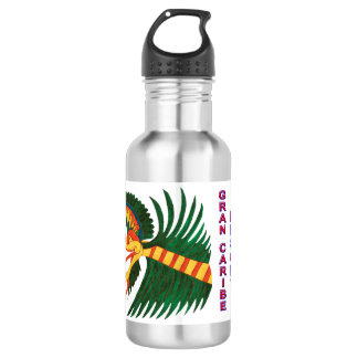 KUKULCAN- GRAN CARIB RESORT- CANCUN MEXICO 532 ML WATER BOTTLE