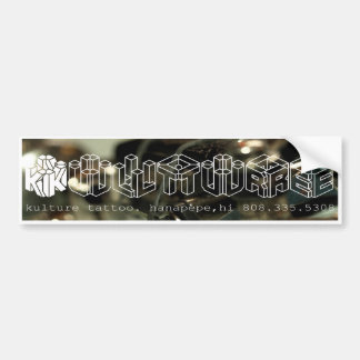 Kulture Tattoo Bumper Sticker