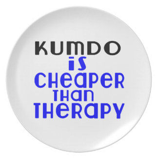 Kumdo Is Cheaper  Than Therapy Plate