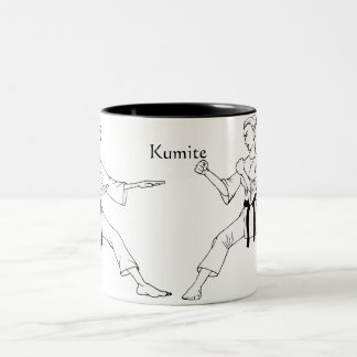Kumite Two-Tone Coffee Mug