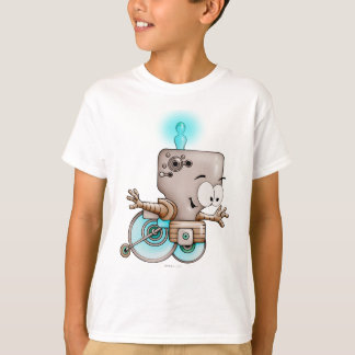 KUMO ROBOT CARTOON HANES TAGLESS SHIRT KID
