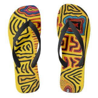 Kuna Indian Flip Flops - San Blas Island Sandals