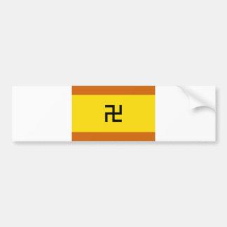 Kuna Yala ethnic flag panama Bumper Sticker