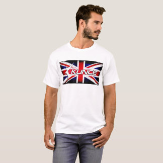 Kunce Original UK Union Jack Grunge T T-Shirt