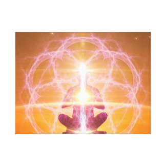 Kundalini and the Chakras - Yoga Awakening Canvas Print