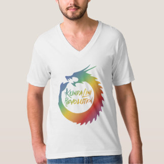 Kundalini Revolution Rainbow Dragon Mens Tee