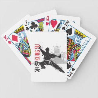 Kung Fu Bicycle Playing Cards