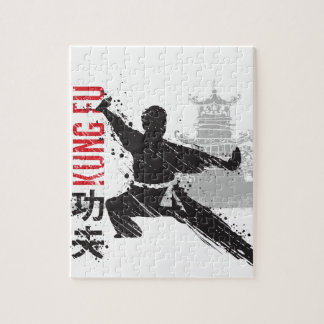 Kung Fu Jigsaw Puzzle