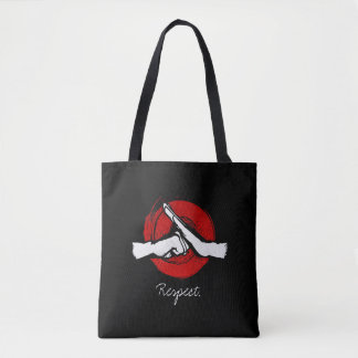 Kung Fu - Martial Arts salute Tote Bag