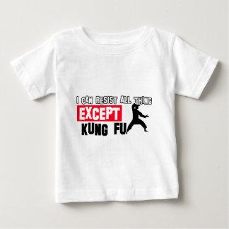 kung fu martial design baby T-Shirt
