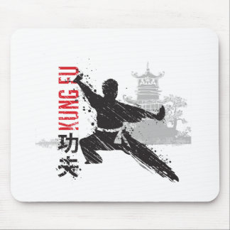 Kung Fu Mouse Pad