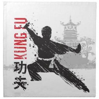 Kung Fu Napkin