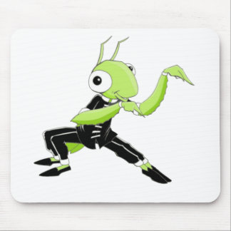 Kung Fu Praying Mantis Mouse Pad