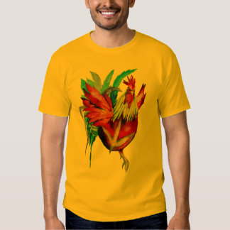 Kung Fu Rooster T Shirts