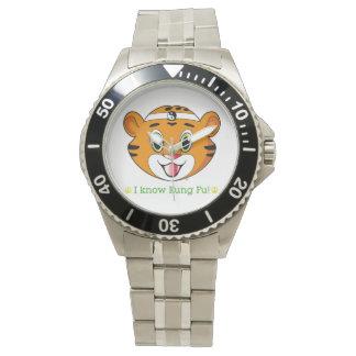 Kung Fu Tiger™ Wrist Watch