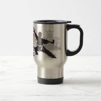 Kung Fu Travel Mug