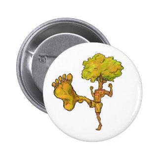 Kung Fu Tree 2 Inch Round Button