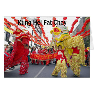 Kung Hei Fat Choy Chinese New Year card