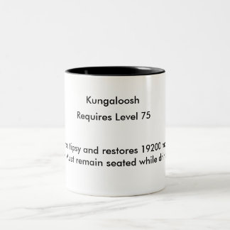 Kungaloosh Two-Tone Coffee Mug