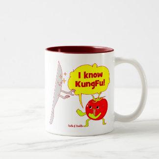KungFu Tomato Doodle Art Mug