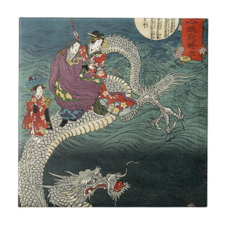 Kunisada II The Dragon Tile