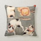 Kuniyoshi Four Cats Pillow