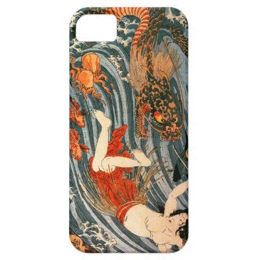 Kuniyoshi -Tamatori iPhone 5 Cover
