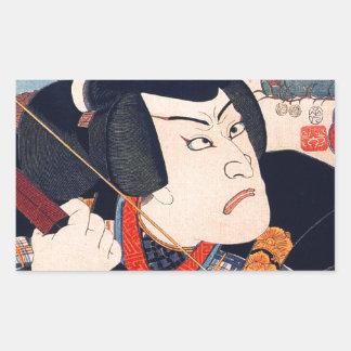 Kuniyoshi The Actor Sticker