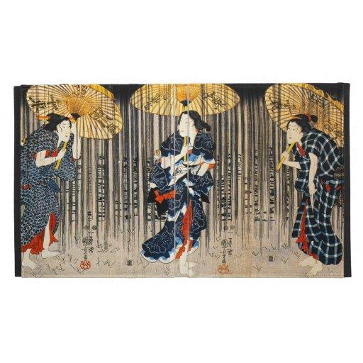 Kuniyoshi Three Women With Umbrellas iPad Case