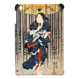 Kuniyoshi Three Women With Umbrellas iPad Mini Covers