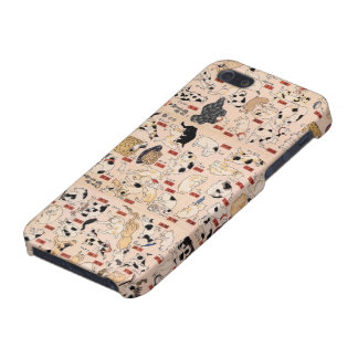 Kuniyoshi Utagawa Cat's iPhone5 case iPhone 5 Cases