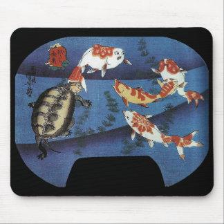 Kuniyoshi UTAGAWA, 'it was similar the goldfish' Mouse Pad