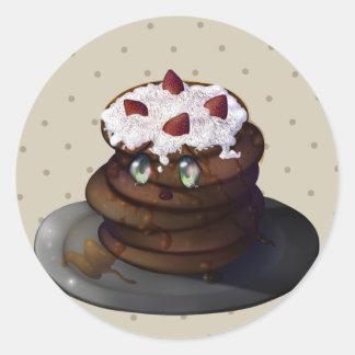 Kura Pancake Classic Round Sticker