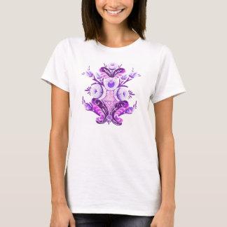 Kurbits flower design traveled women. T-Shirt