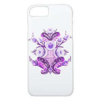 Kurbits in purple iPhone 7 case