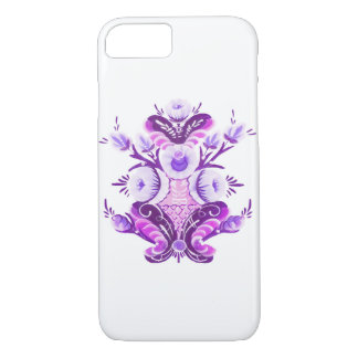 Kurbits in purple iPhone 8/7 case