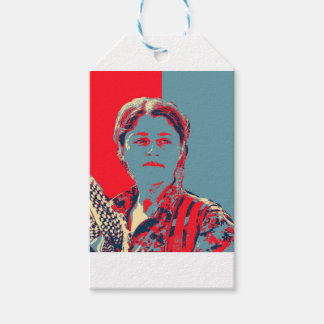 Kurdish Female YPG Fighter art Gift Tags