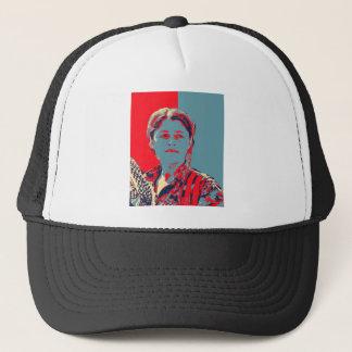 Kurdish Female YPG Fighter art Trucker Hat