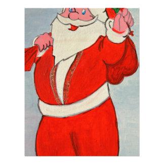 Kurdish Santa Custom Letterhead