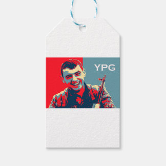 Kurdish YPG Fighter 2 art 2 Gift Tags