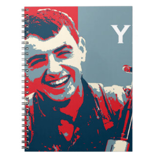 Kurdish YPG Fighter 2 art 2 Spiral Notebook