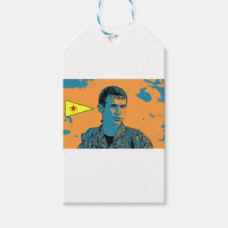 Kurdish YPG Fighter art 3 Gift Tags