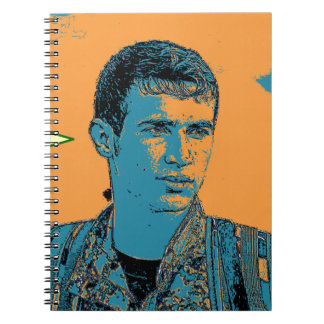 Kurdish YPG Fighter art 3 Notebooks