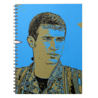 Kurdish YPG Fighter art 4 Notebook